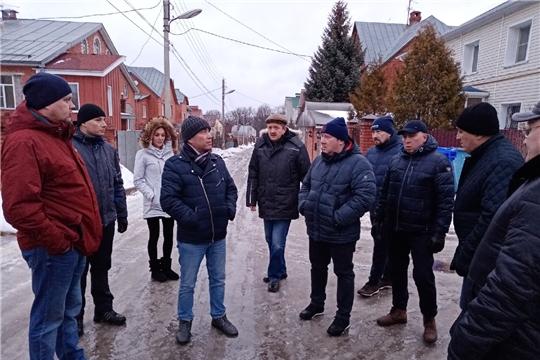 В Ленинском районе состоялся еженедельный комиссионный обход территорий