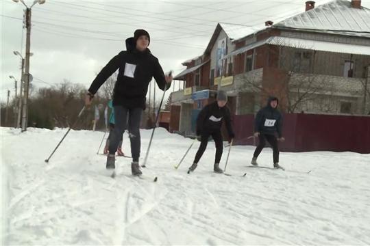 Военизированная лыжная гонка Ленинского района г,Чебоксары