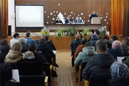 «Открытый город»: заместитель главы администрации г.Чебоксары Алексей Маклыгин встретился с жителями Ленинского района