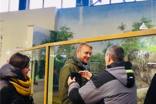 Сотрудники Чебоксарского детского парка в целях обмена опытом посетили Казанский зооботанический сад