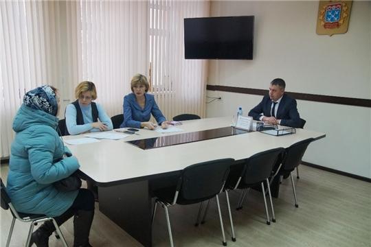Глава администрации Ленинского района Максим Андреев провел прием граждан по личным вопросам