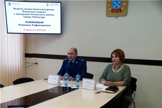 Прокурор Ленинского района Рамиль Тафиков встретился с ветеранами