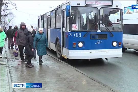 Общественный транспорт в Чебоксарах в карантин будет ходить ещё реже