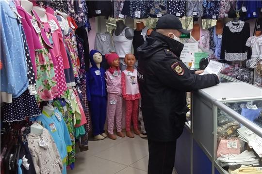 В Ленинском районе продолжаются выходы по предприятиям торговли