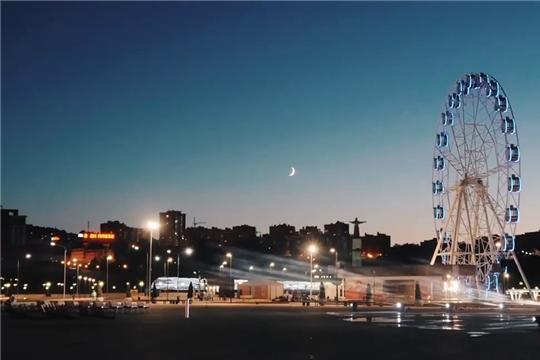 Техническое открытие Красной площади после реконструкции в честь 100-летия образования Чувашской автономной области