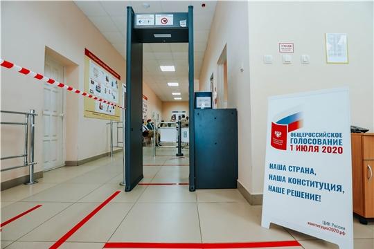 В Чебоксарах открылись 194 избирательных участка