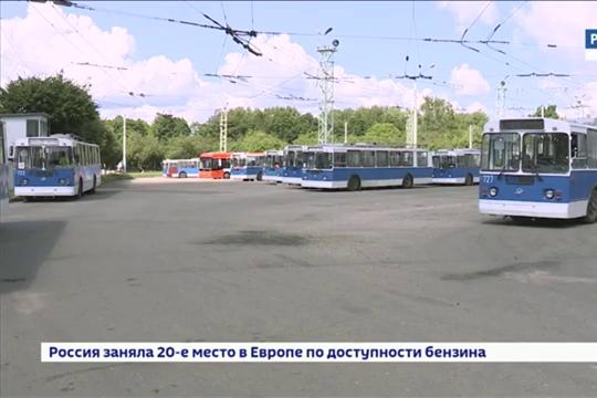 В Чебоксарах закупят 68 троллейбусов