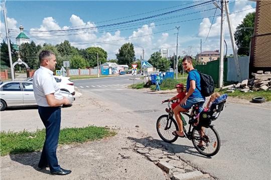 В Ленинском районе продолжается работа по ремонту улично-дорожной сети