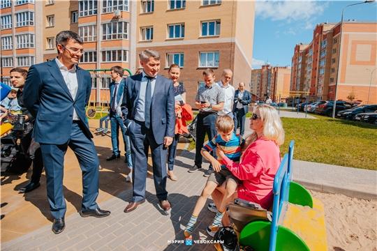 Олег Николаев познакомился с перспективами развития района «Новый город» в Чебоксарах