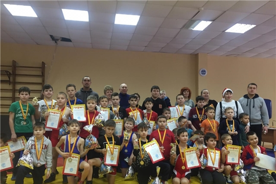 Состоялся районный Рождественский турнир по спортивной (вольной) борьбе среди юношей
