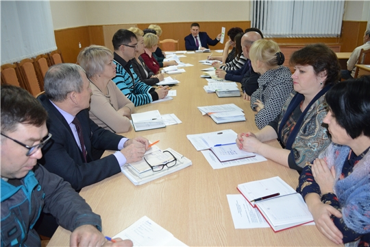 Рабочее совещание при главе администрации Мариинско-Посадского района