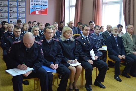 Состоялось итоговое совещание сотрудников ОМВД России по Мариинско-Посадскому району