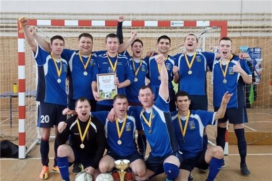 Команда «Водник»- победительница Первенства Чувашской Республики по мини-футболу во втором дивизионе