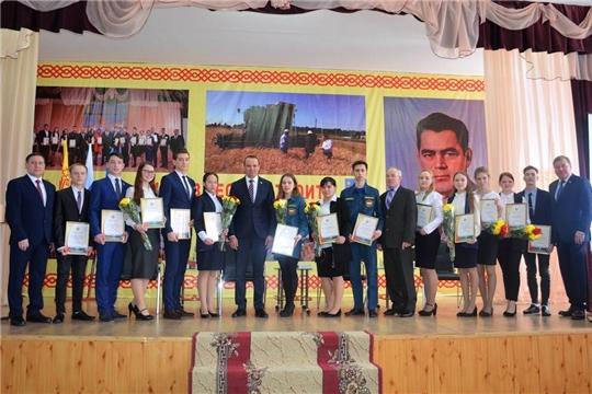 11 представителей Мариинско-Посадского района- в числе стипендиатов Главы Чувашии