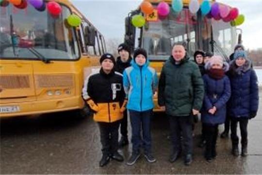 Новый школьный автобус получила Первочурашевская школа