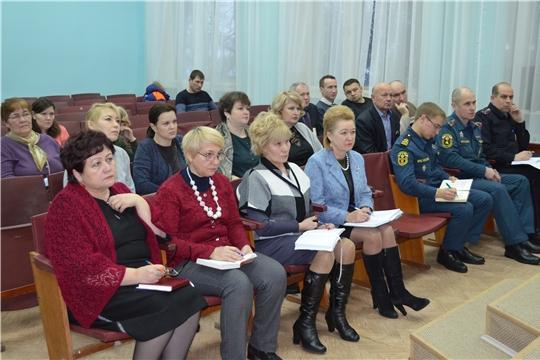 В администрации Мариинско-Посадского района состоялось очередное рабочее совещание