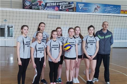 Состоялась церемония открытия X сезона чемпионата школьной волейбольной лиги
