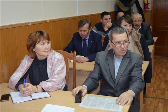 Глава администрации Мариинско-Посадского района провел рабочее совещание с главами поселений