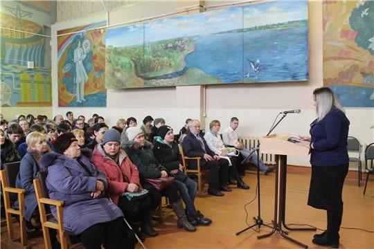 В Мариинско-Посадском технологическом техникуме состоялось родительское собрание