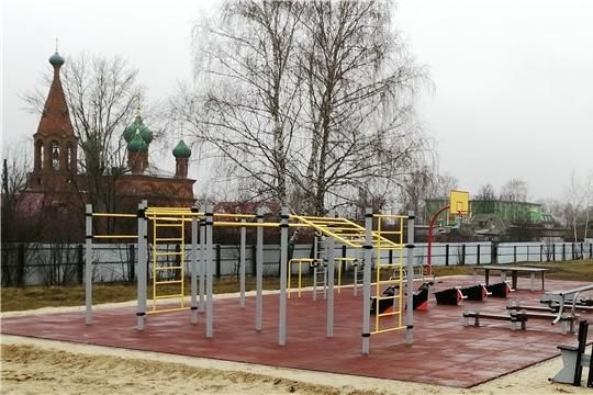 «Спорт – норма жизни»: в 2020 году в пяти районах Чувашии будут построены малые спортивные площадки
