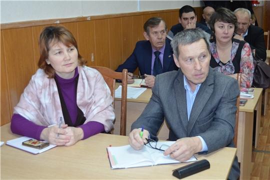 Глава администрации Мариинско-Посадского района провел совещание с главами поселений