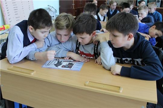 С учащимися Сутчевской СОШ - о правилах поведения на льду
