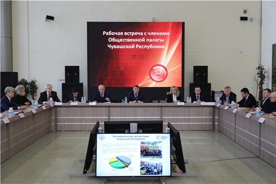 Олег Николаев предложил создать Центр социальных проектов на базе Общественной палаты Чувашии