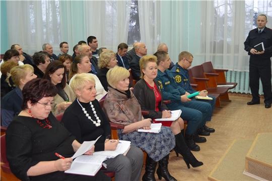 Рабочая неделя открылась в администрации Мариинско-Посадского района расширенным совещанием