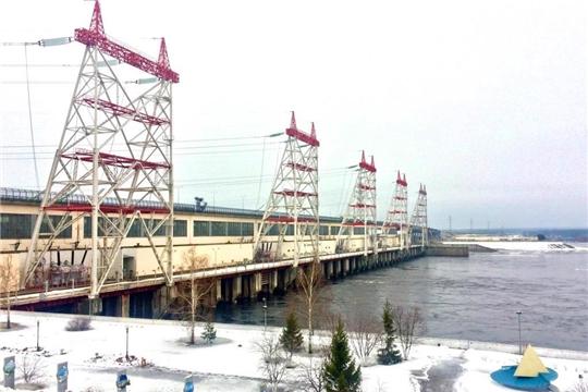 Чебоксарская ГЭС готовится к половодью