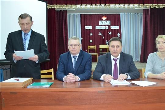 Глава Первочурашевского сельского поселения отчитался перед населением по итогам года