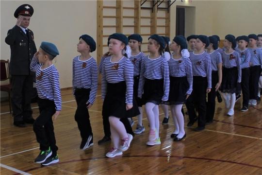 В гимназии состоялся конкурс-смотр строя и песни «Мы помним, мы гордимся»