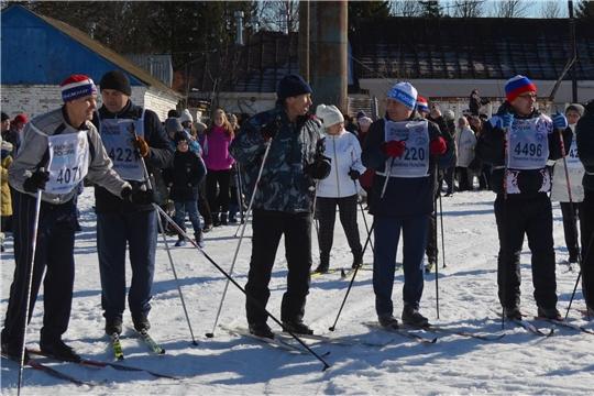 Мариинско-Посадский район присоединился к Всероссийской массовой лыжной гонке «Лыжня России-2020»