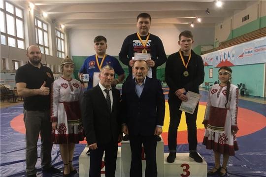 Марпосадцы призеры открытого первенста по вольной борьбы О.А. Маркиянова