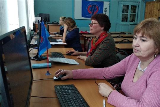 Чемпионат по компьютерному многоборью старшего поколения Мариинско-Посадского района был посвящен 75-летию Победы