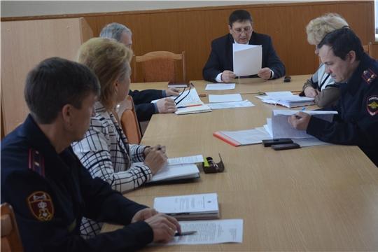 Глава администрации Мариинско-Посадского района Анатолий Мясников провел заседание антитеррористической комиссии.