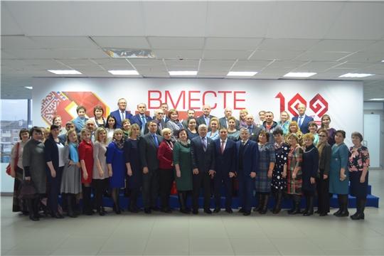 Мариинско-Посадский район принял участие в открытии празднования 100-летия со дня образования Чувашской автономной области