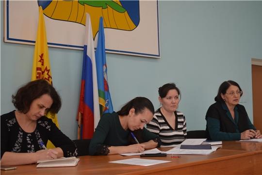 Заседание комиссии по повышению устойчивости социально-экономического развития Мариинско-Посадского района
