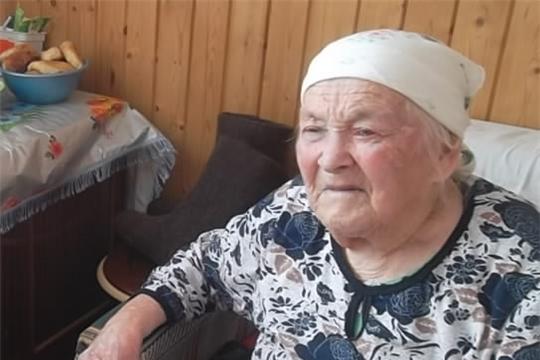 Встреча с ветераном Великой Отечественной войны Гойко Тамарой Ильничной