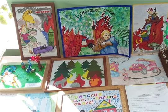 В Мариинско-Посадской детской школе искусств состоялись районные этапы всероссийских конкурсов, направленных на профилактику пожарной безопасности среди молодого поколения