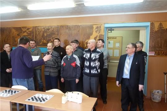 Состоялся чемпионат района по шашкам среди мужских команд