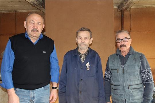 В рамках акции «К 75–летию Победы – 75 добрых дел» в Мариинско- Посадском районе продолжается вручение юбилейных медалей