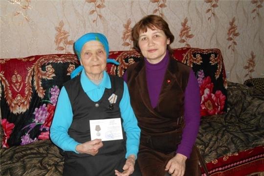 Вручены юбилейные медали труженикам тыла Большешигаевского сельского поселения