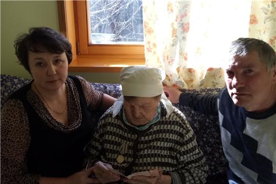 Вручение юбилейных медалей к 75 - летию Победы в Сутчевском сельском поселении