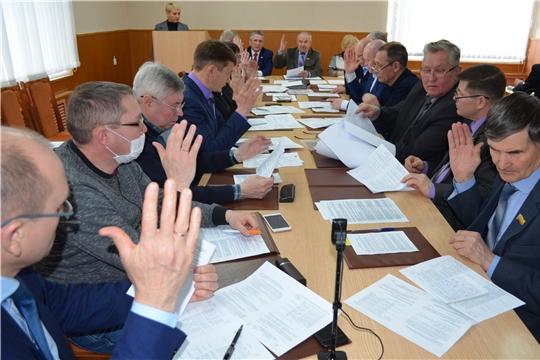 На очередном заседании депутатами Мариинско-Посадского районного Собрания обсуждены актуальные вопросы