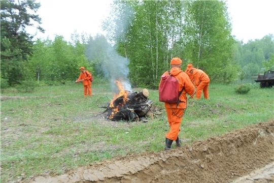 Начался пожароопасный сезон в лесах