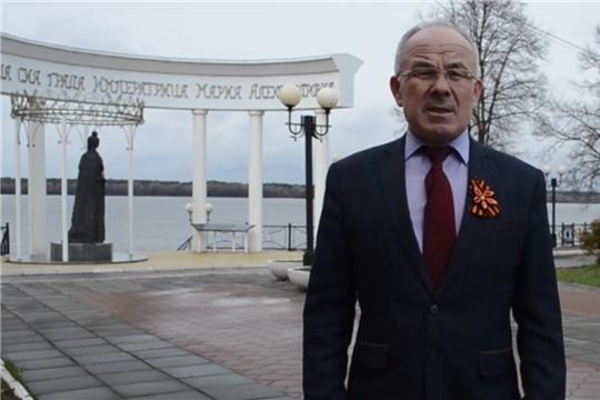 Поздравление с 1 мая главы района Николаева Н.П.