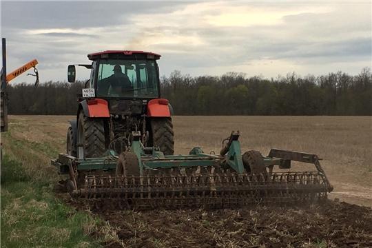 Ход весенних полевых работ в сельхозорганизациях и крестьянских фермерских хозяйствах Мариинско-Посадского района