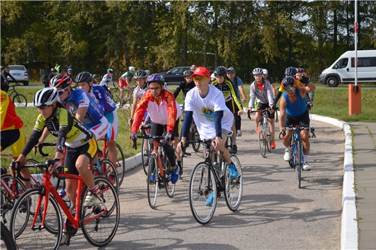 Велопробег  «Марпосадский» в рамках празднования 400-летия города Мариинский Посад