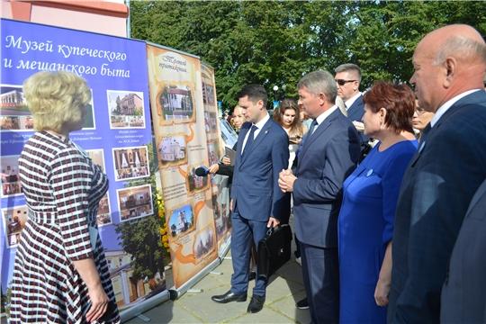 Врио Главы Чувашии Олег Николаев оценил туристический потенциал Мариинско-Посадского района