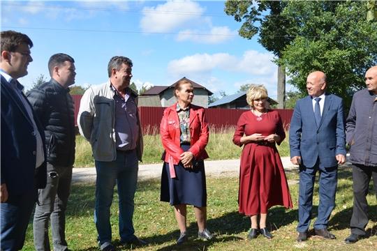 Министр культуры Чувашии Роза Лизакова посетила учреждения культуры Мариинско-Посадского района